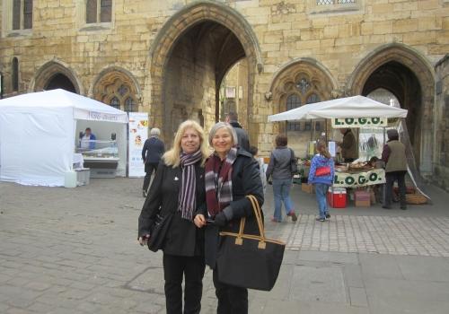 At the Castle Square Market