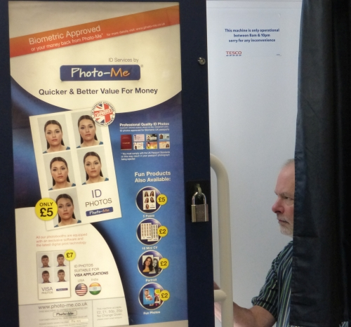 Steve at the Photo Booth
