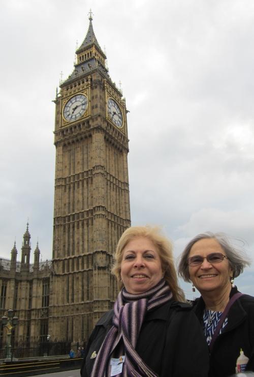 In Front of Big Ben at the Foot of Westminster Bridge
