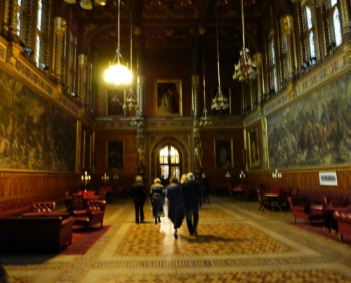 With a Private Tour of the House of Lords