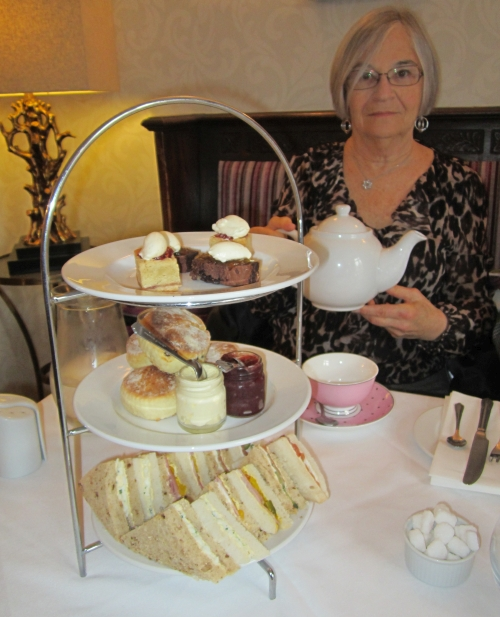 Afternoon Tea at The Castle Hotel in Lincoln