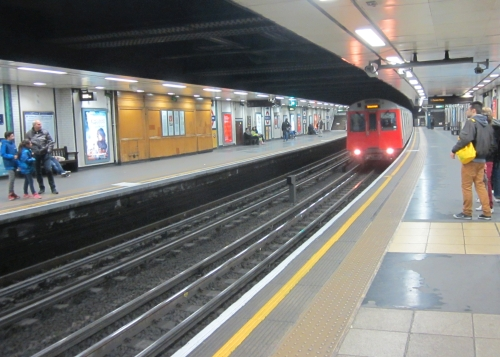 We Took the Tube Everywhere