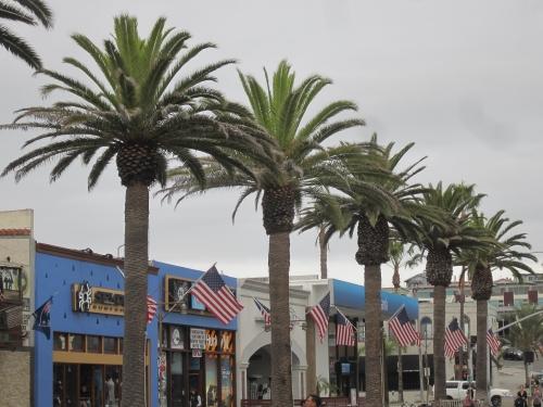 Patriotic Main Street, Hermosa Beach