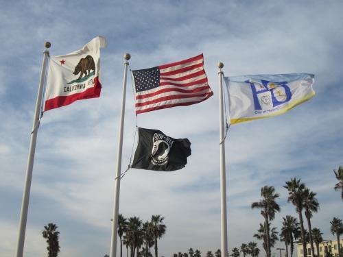 Slight Wind at Huntington Beach