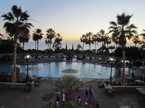 Sunset at Our Marriott Timeshare Newport Beach