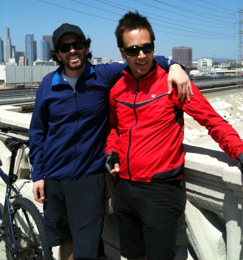 Cycling Around LA